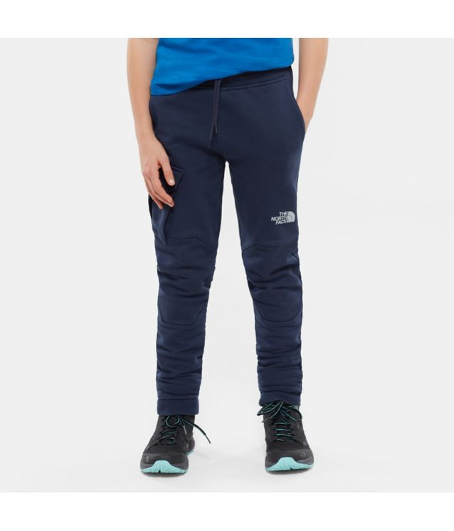 Tnf Pantalon New Drew Peak Cosmic Blue Pour Enfant