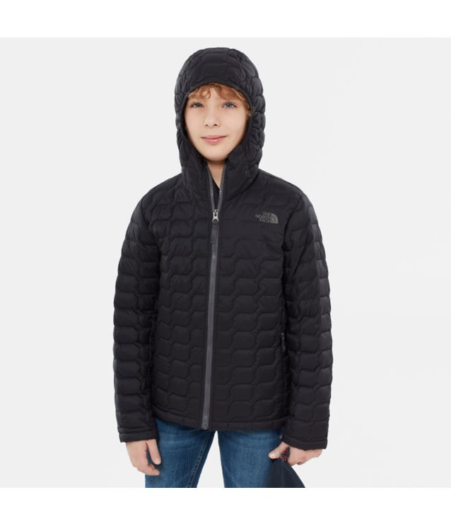 Tnf Veste à Capuche Thermoball™ Tnf Black Pour Enfant