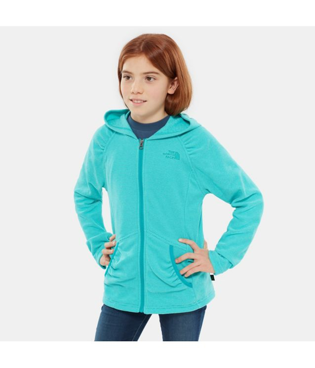 Tnf Sweat à Capuche Mezzaluna Kokomo Green Pour Fille