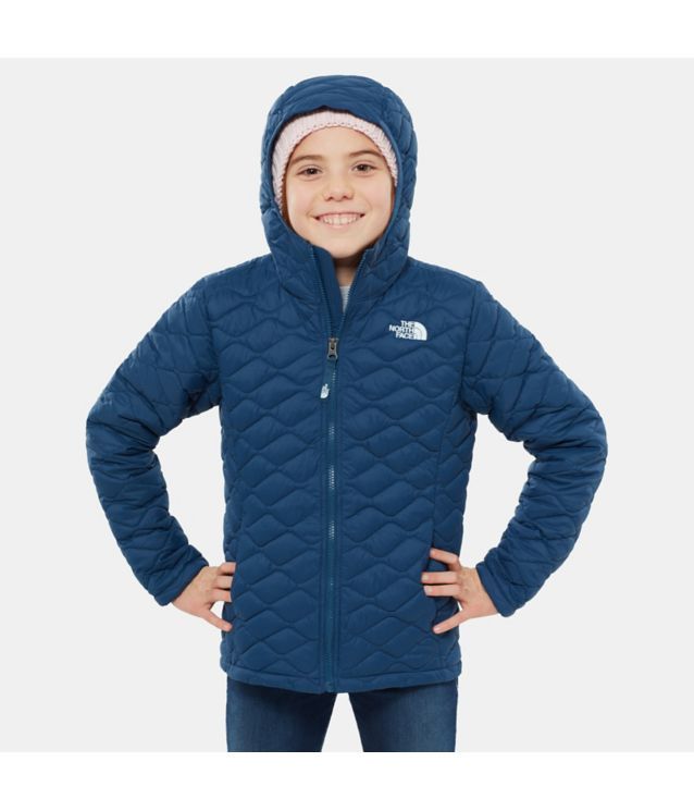 Tnf Veste à Capuche Thermoball™ Blue Wing Teal Pour Fille