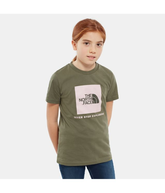 Tnf T-Shirt Box New Taupe Pour Ado