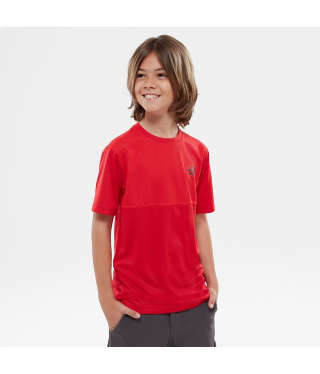 Tnf T-Shirt Reactor Tnf Red Pour Enfant
