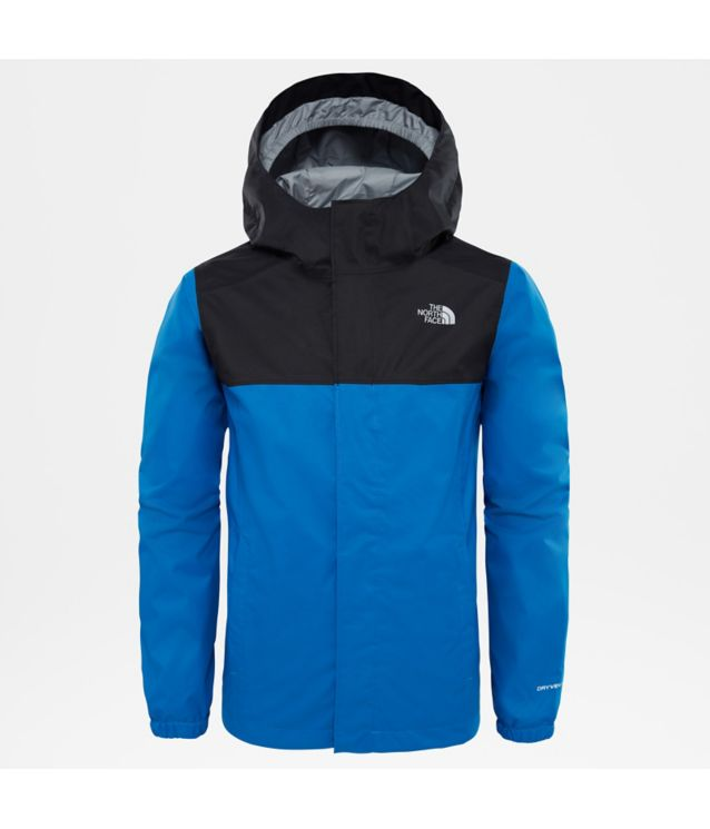 Tnf Veste Resolve Reflective Turkish Sea Pour Garçon