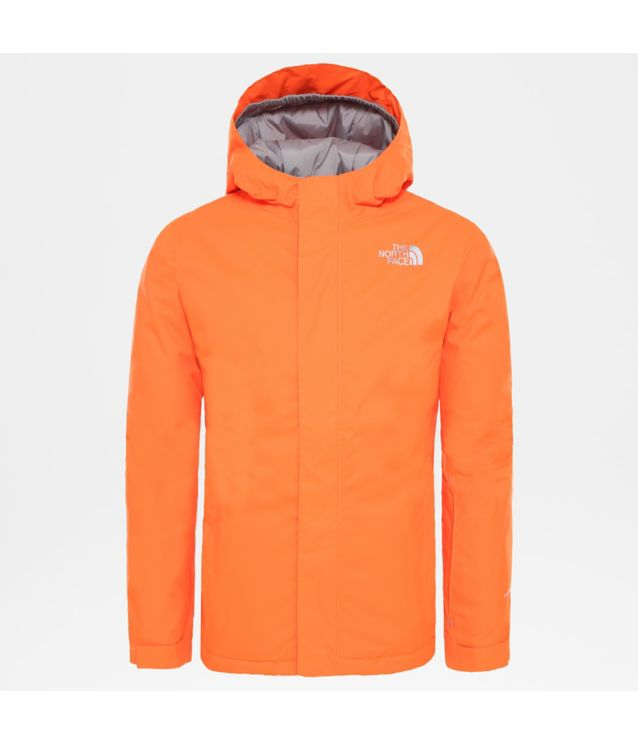 Tnf Veste Snow Quest Power Orange/Power Orange Pour Enfant