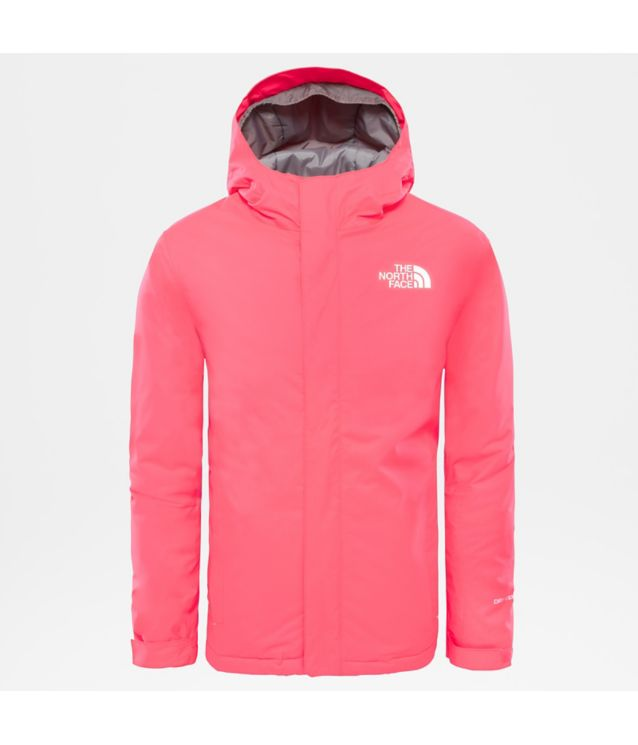 Tnf Veste Snow Quest Rocket Red Pour Enfant