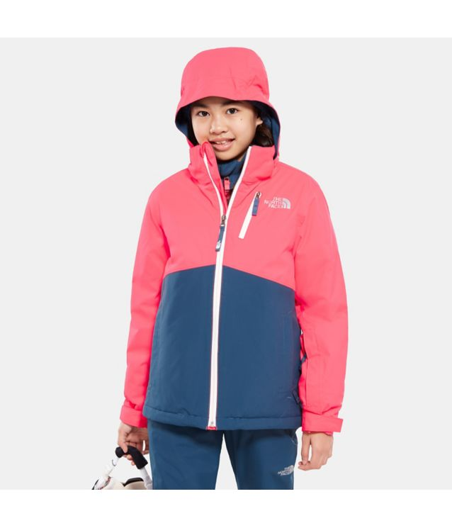 Tnf Veste Snowquest Plus Rocket Red Pour Ado