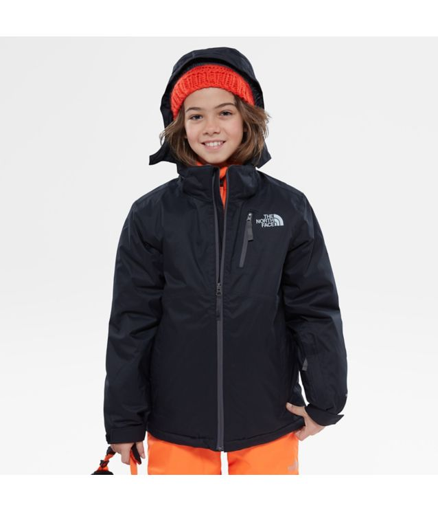 Tnf Veste Snowquest Plus Tnf Black Pour Ado