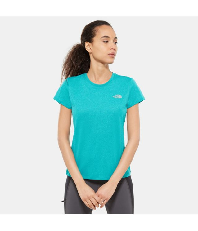 Tnf T-Shirt Reaxion Ampere Kokomo Green Heather Pour Femme