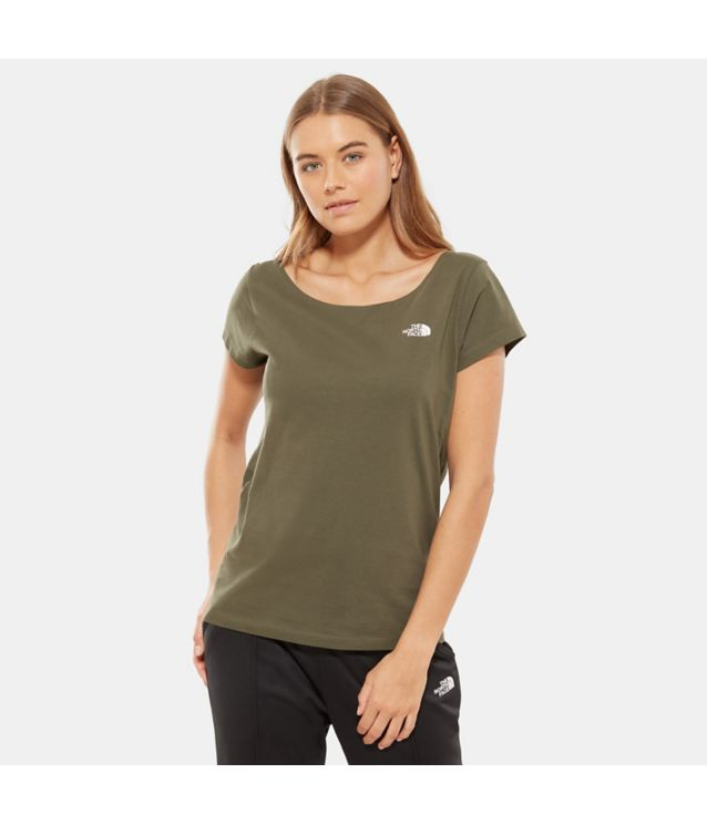 Tnf T-Shirt Redbox New Taupe Pour Femme