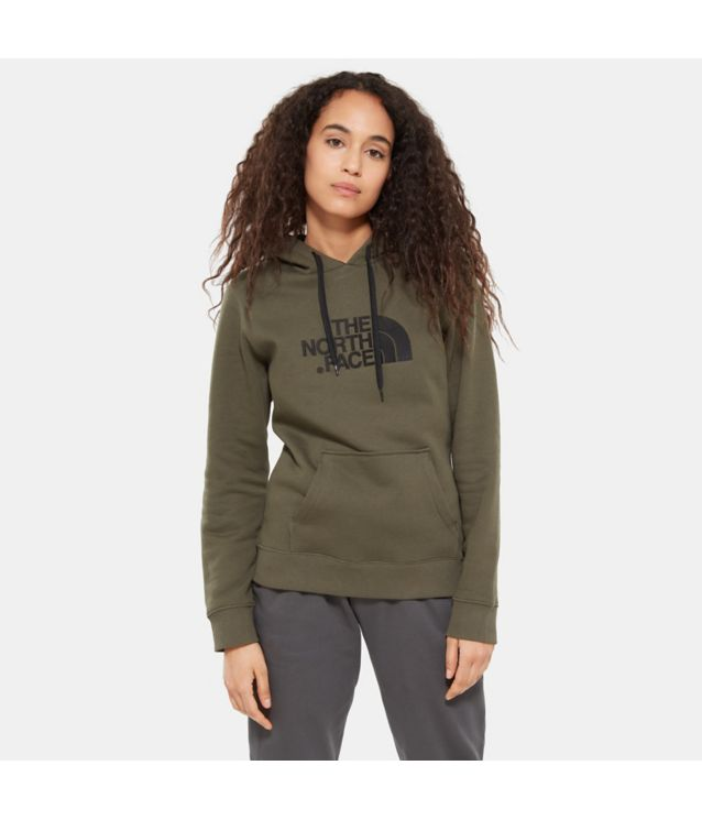 Tnf Sweat à Capuche Drew Peak New Taupe Pour Femme