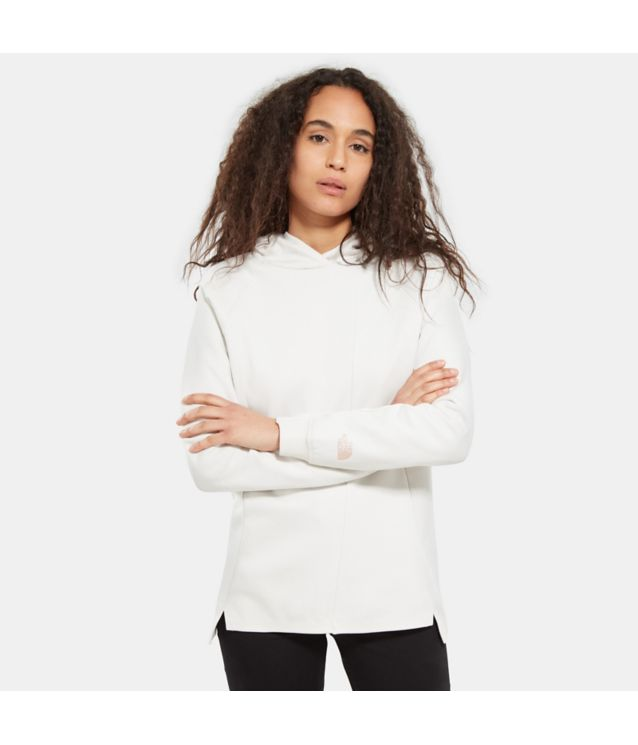 Tnf Sweat à Capuche Vista Tek Moonlight Ivory Pour Femme