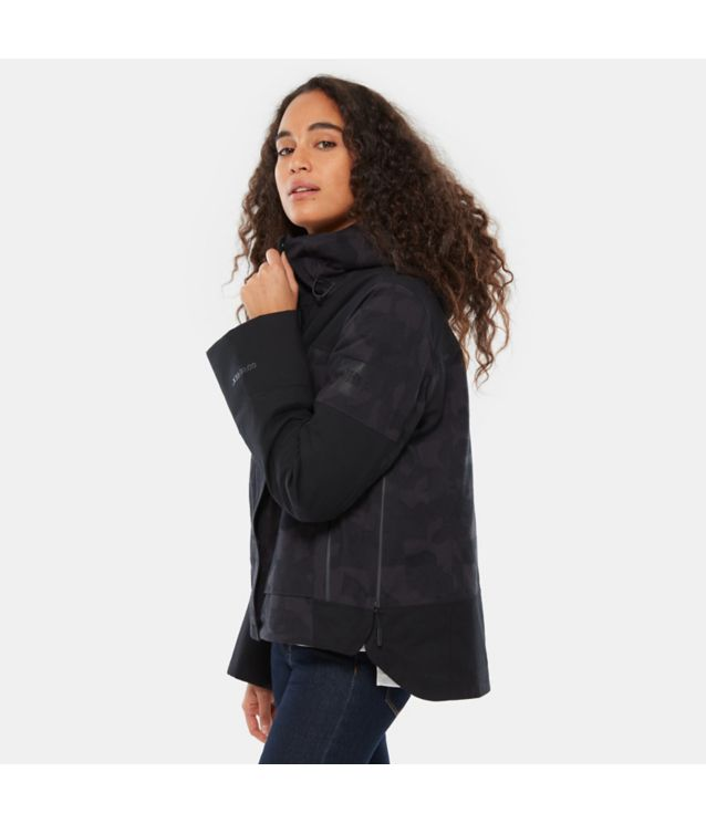 Tnf Veste Isolée Cryos Gore-Tex® Mountain Weathered Black Jacquard Pour Femme