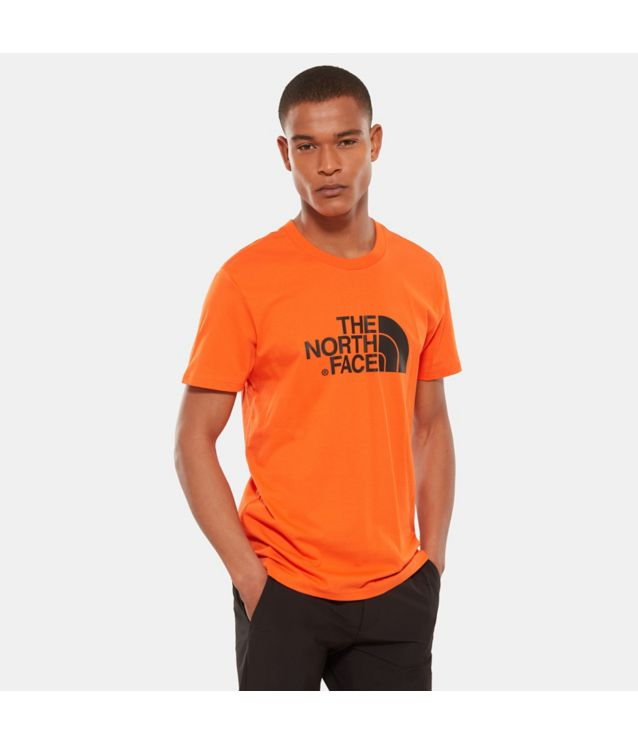 Tnf T-Shirt Easy Persian Orange Pour Homme