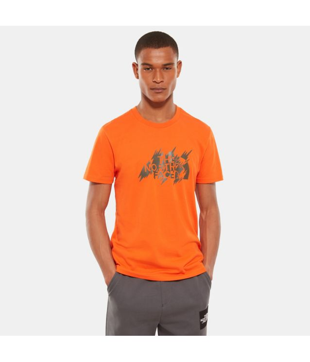 Tnf T-Shirt Flash Persian Orange Pour Homme
