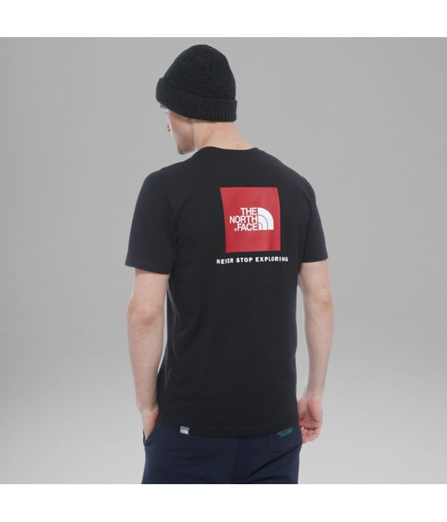 Tnf T-Shirt Red Box Tnf Black Pour Homme