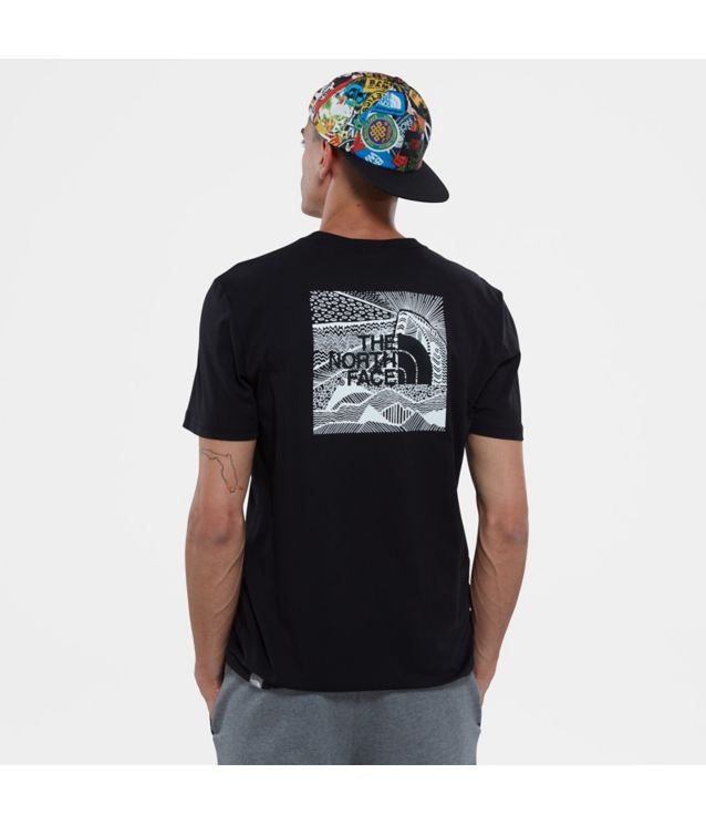 Tnf T-Shirt Redbox Celebration Tnf Black Pour Homme