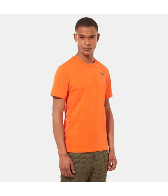 Tnf T-Shirt Redbox Celebration Persian Orange Pour Homme