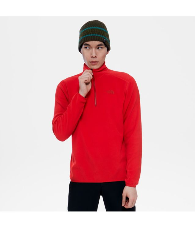 Tnf Pull-Over 100 Glacier Tnf Red Pour Homme
