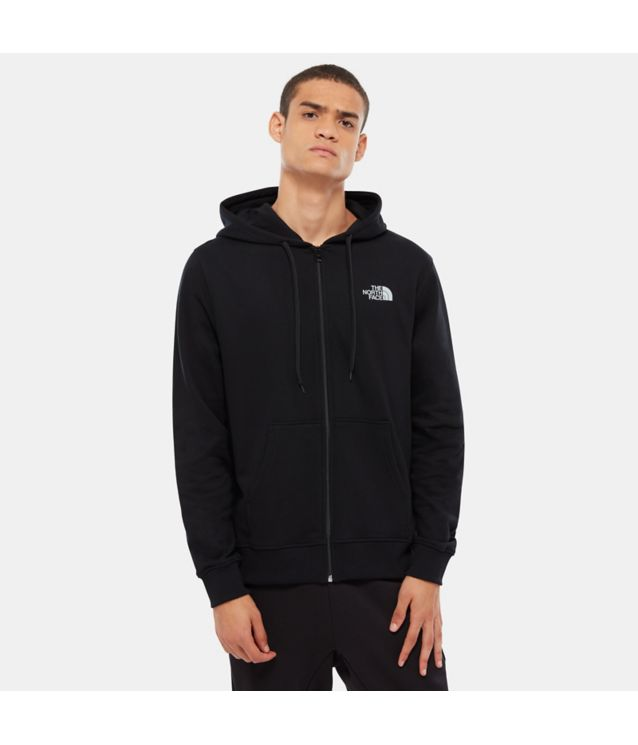 Tnf Veste à Capuche Open Gate Tnf Black/High Rise Grey Pour Homme