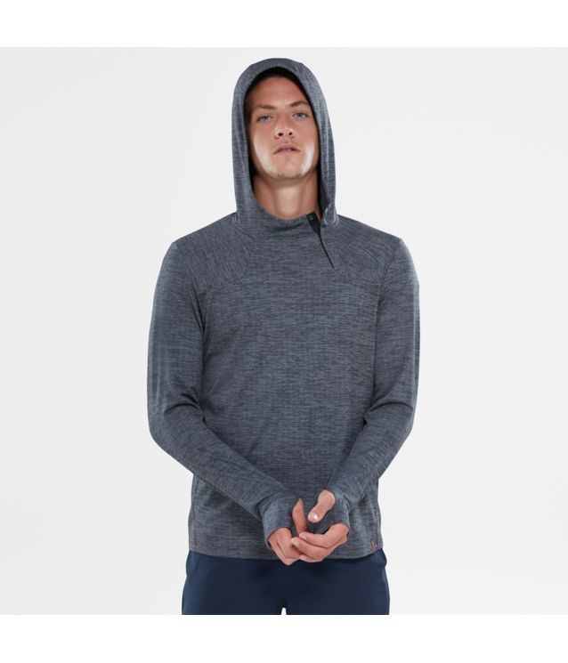 Tnf Sweat à Capuche Beyond The Wall Tnf Black Heather Pour Homme