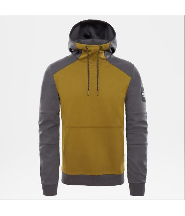 Tnf Sweat à Capuche Fine Box Fir Green/Asphalt Grey Pour Homme