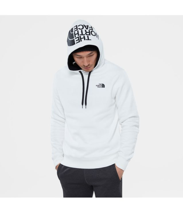 Tnf Sweat à Capuche Seasonal Drew Peak Tnf White/Tnf Black Pour Homme