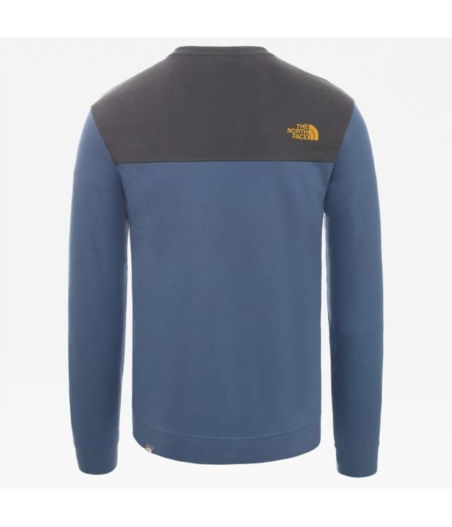 Tnf Sweat New Peak Tech Shady Blue - Tnf Black Pour Homme