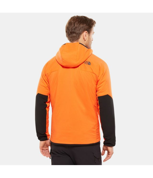 Tnf Veste à Capuche Ventrix Persian Orange/Tnf Black Pour Homme