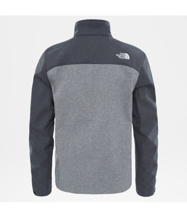 Tnf Veste Apex Bionic Tnf Dark Grey Heather/Tnf Medium Grey Heather Pour Homme