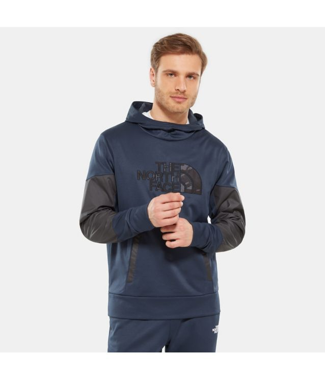 Tnf Sweatshirt Train N Logo Urban Navy Pour Homme
