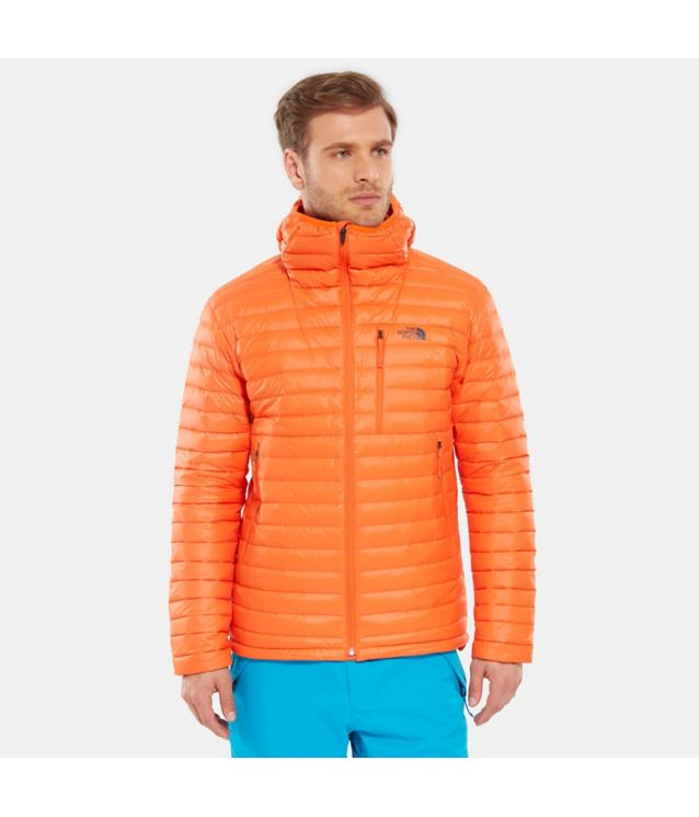 Tnf Veste En Duvet Premonition Persian Orange Pour Homme