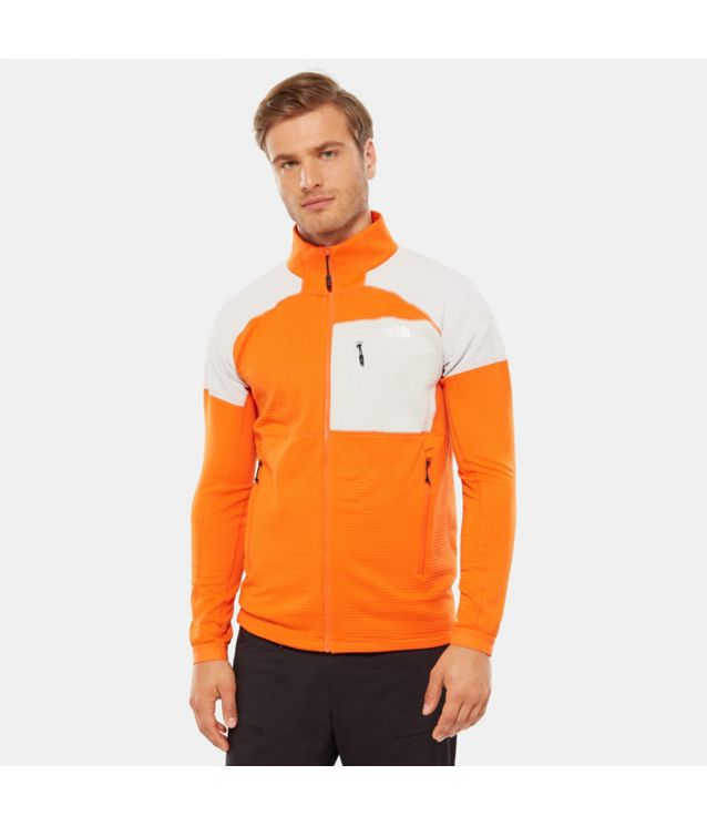 Tnf Veste Impendor Grid Persian Orange/Tin Grey Pour Homme