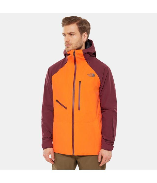 Tnf Veste Powderflo Persian Orange/Fig Pour Homme