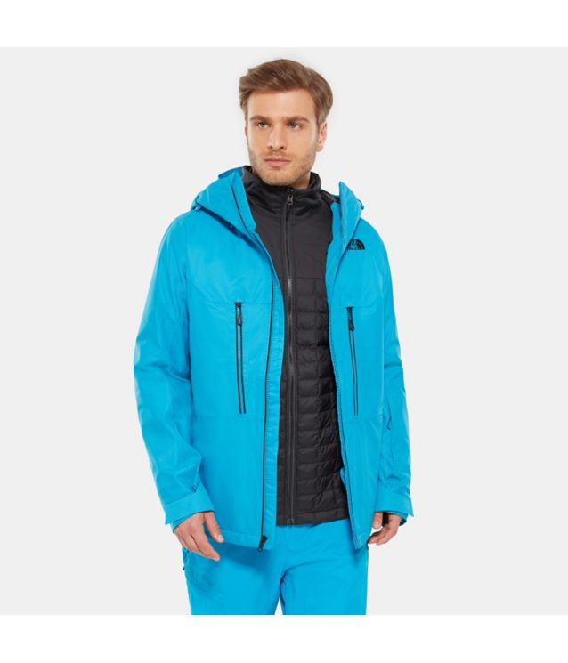 Tnf Veste Thermoball™ Snow Triclimate® Hyper Blue Pour Homme