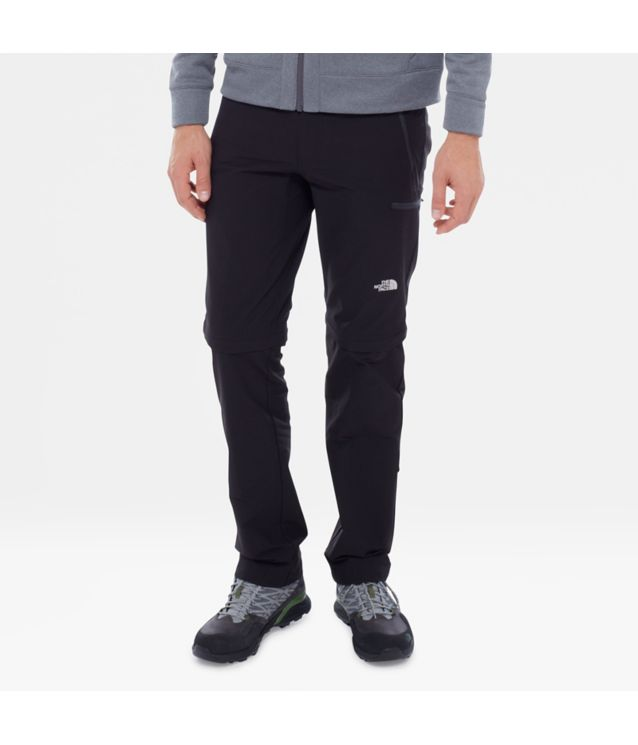 Tnf Pantalon Convertible Exploration Tnf Black Pour Homme