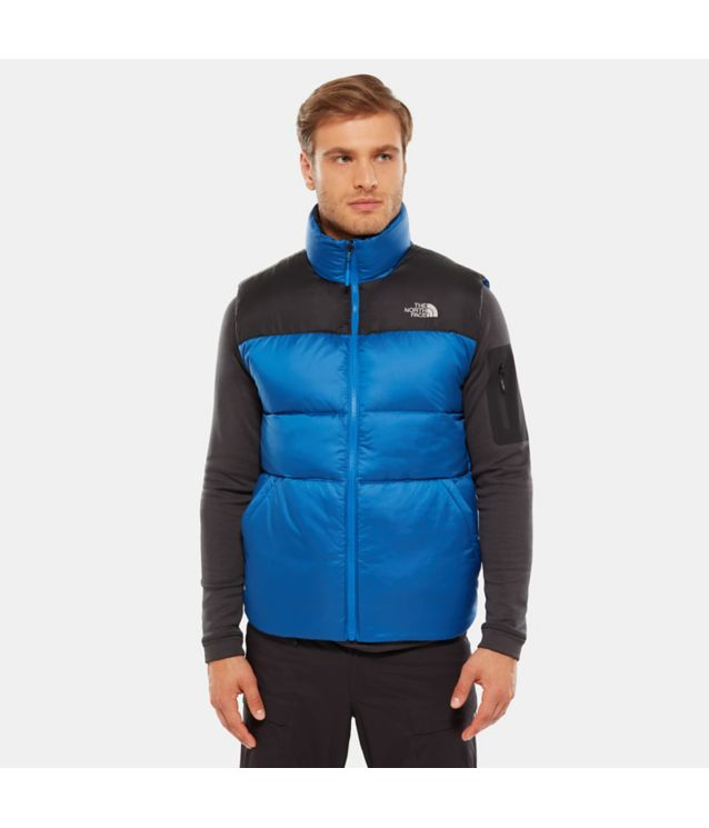 Tnf Gilet à Zip Compatible Nuptse Iii Turkish Sea Pour Homme