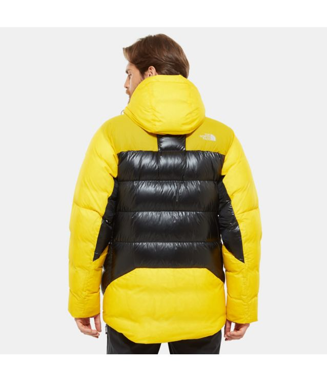 Tnf Parka En Duvet Summit L6 Belay Canary Yellow/Tnf Black Pour Homme