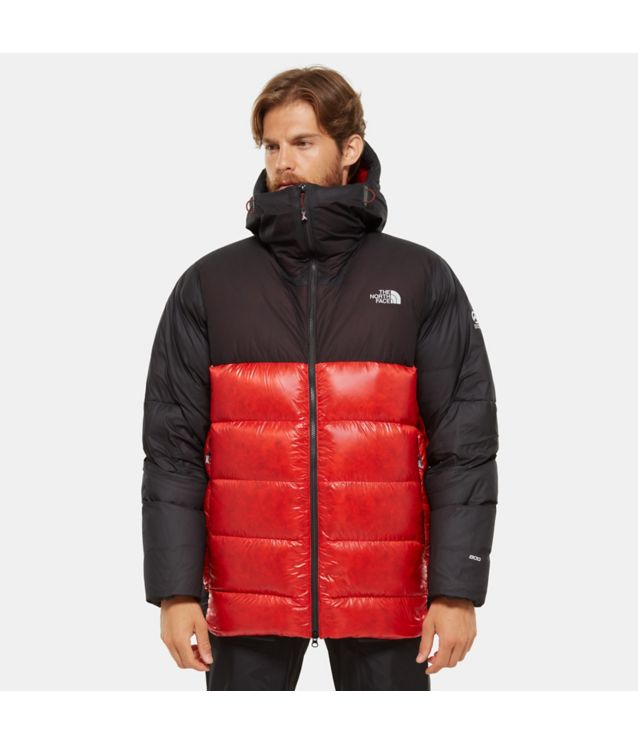 Tnf Parka En Duvet Summit L6 Belay Fiery Red/Tnf Black Pour Homme