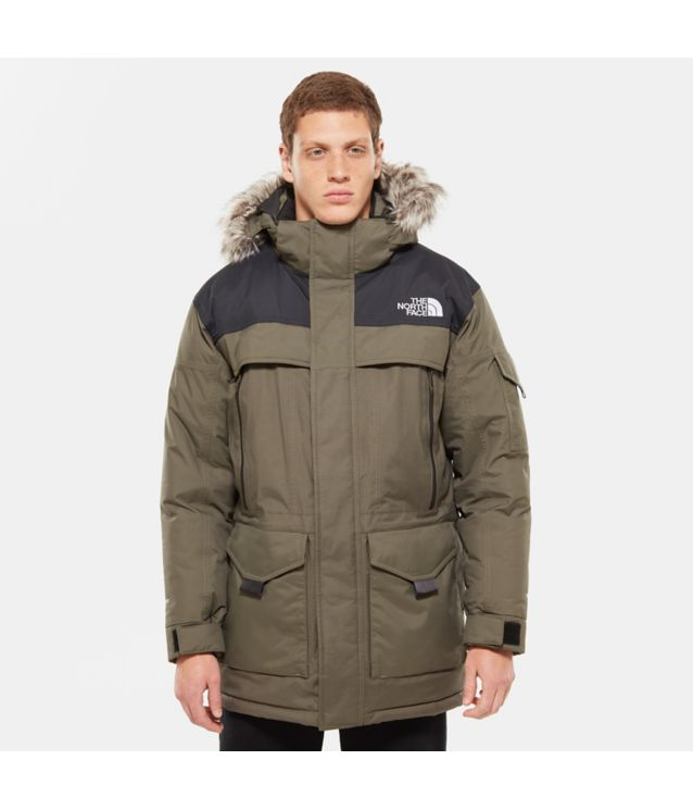 Tnf Parka Mcmurdo 2 New Taupe Green/Tnf Black Pour Homme
