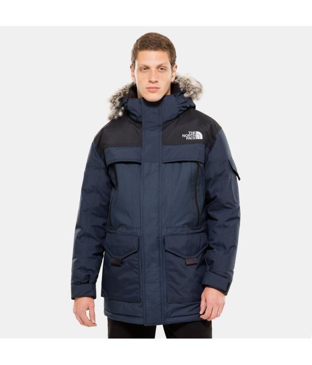 Tnf Parka Mcmurdo 2 Urban Navy/Tnf Black Pour Homme