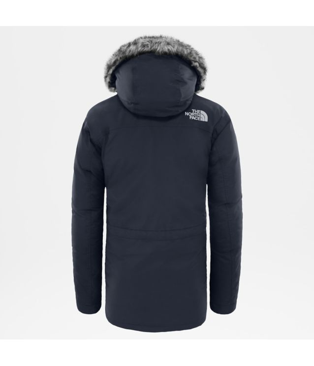 Tnf Parka New Peak Urban Navy Pour Homme