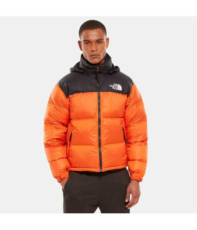Tnf Veste 1996 Retro Nuptse Persian Orange Pour Homme