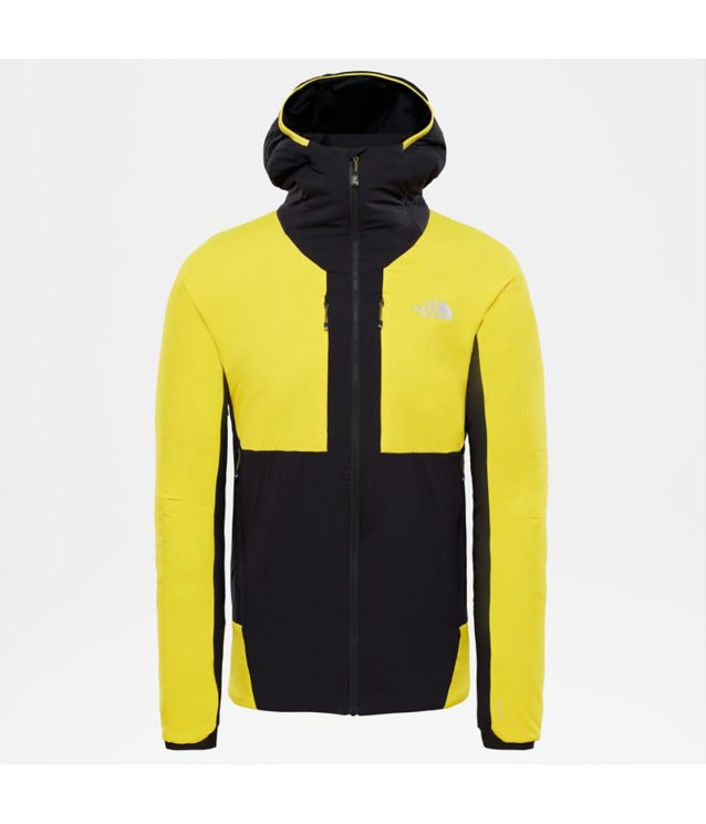 Tnf Veste à Capuche Summit L3 Ventrix 2.0 Canary Yellow/Tnf Black Pour Homme