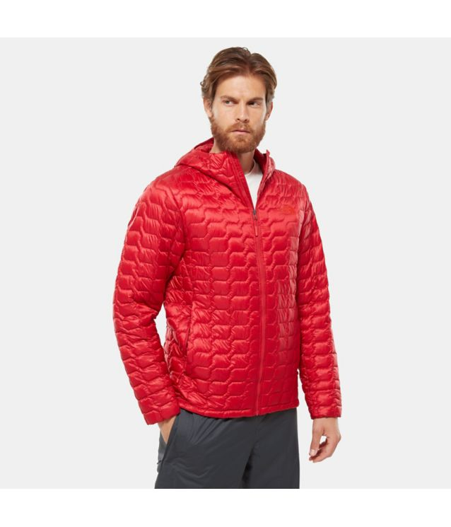 Tnf Veste à Capuche Thermoball™ Rage Red Pour Homme