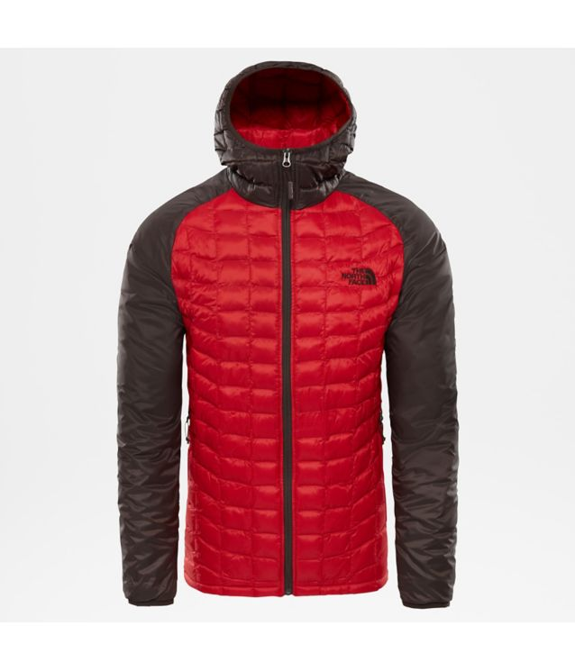 Tnf Veste De Sport à Capuche Thermoball™ Rage Red/Bittersweet Brwn Pour Homme