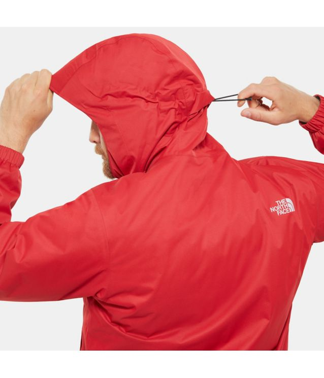 Tnf Veste Isolée Quest Rage Red Black Heather Pour Homme
