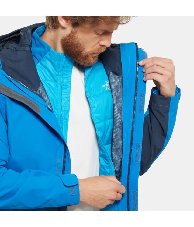 Tnf Veste Merak Triclimate Turkish Sea Pour Homme
