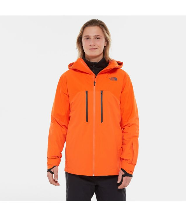Tnf Veste Powder Guide Persian Orange Pour Homme