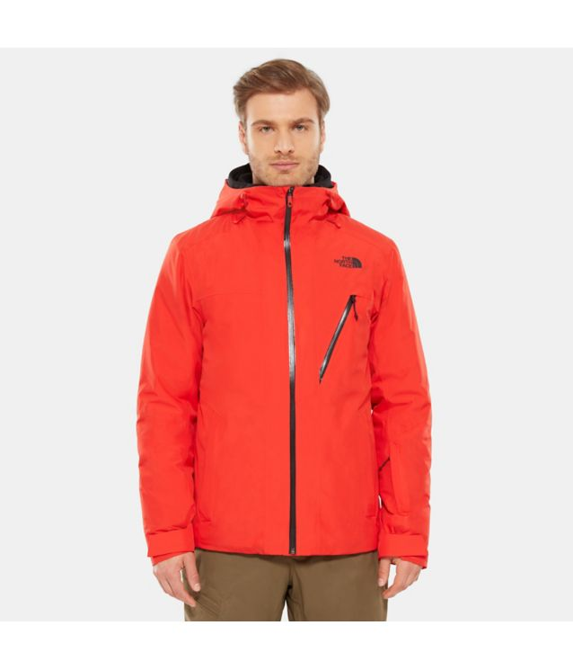Tnf Veste Descendit Fiery Red Pour Homme