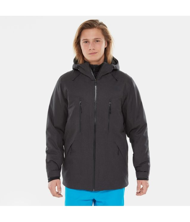 Tnf Veste Mount Bre Tnf Dark Grey Heather Pour Homme